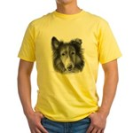 Rough Collie Yellow T-Shirt