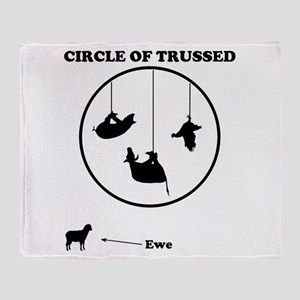 Circle of Trust (Trussed) Throw Blanket