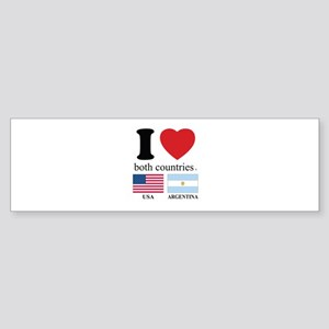 USA-ARGENTINA Sticker (Bumper)