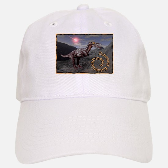 dinosaur extinction Baseball Baseball Cap