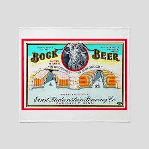 Minnesota Beer Label 3 Throw Blanket