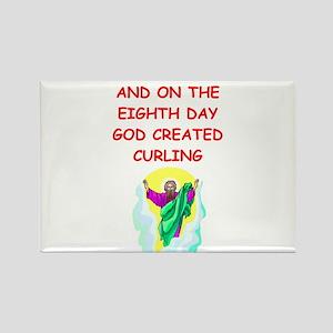 curling Rectangle Magnet