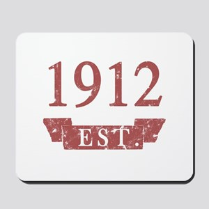 Established 1912 Mousepad