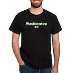 Washington 24 Black T-Shirt