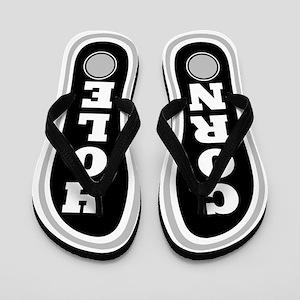 Corn Hole Flip Flops