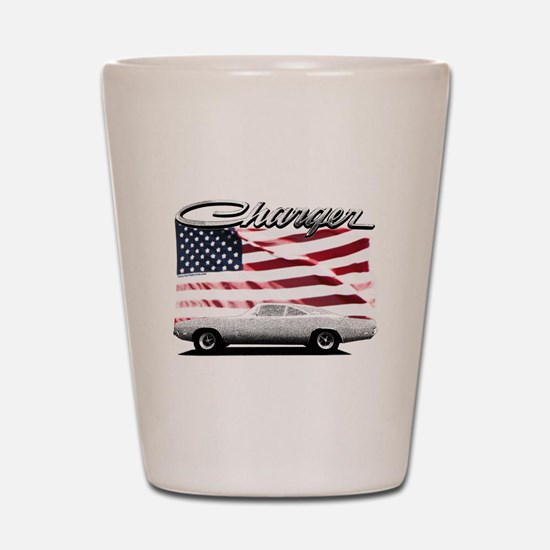 Cute 69 dodge charger Shot Glass