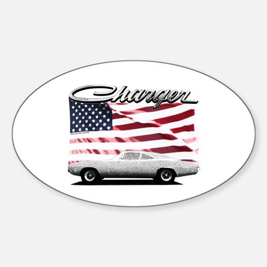 Unique Dodge Sticker (Oval)