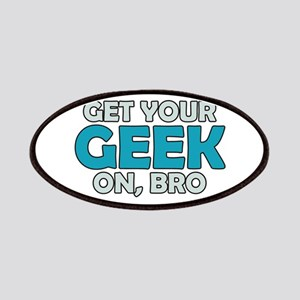 Get Your Geek on Bro Patches
