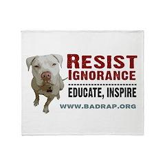 Resist Ignorance - Educate, Inspire Blanket