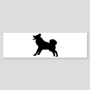 Alaskan Malamute Silhouette Sticker (Bumper)