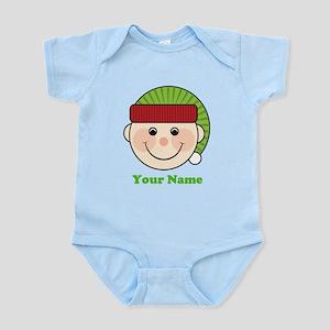 Personalized Christmas Elf Infant Bodysuit