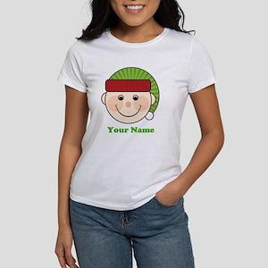 Personalized Christmas Elf Women's T-Shirt