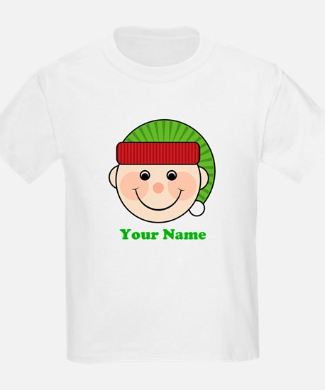 Personalized Christmas Elf T-Shirt