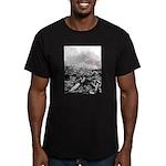 Clearcut Butchers Men's Fitted T-Shirt (dark)