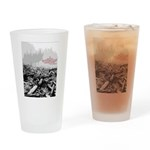 Clearcut Butchers Drinking Glass