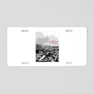 Clearcut Butchers Aluminum License Plate