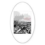 Clearcut Butchers Sticker (Oval 50 pk)