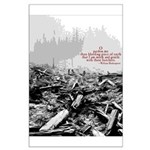 Clearcut Butchers Large Poster