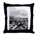 Clearcut Butchers Throw Pillow