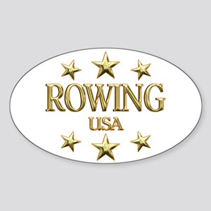 USA Rowing Sticker (Oval)