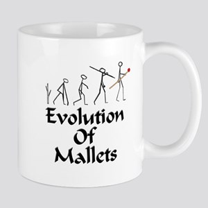 funny mallet evolution Mug