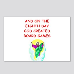 board games Postcards (Package of 8)