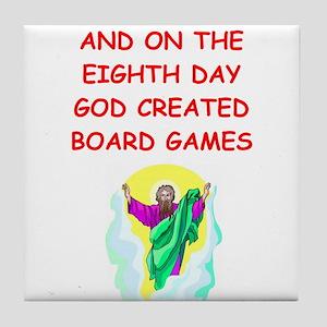 board games Tile Coaster