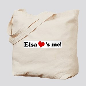 Elsa loves me Tote Bag