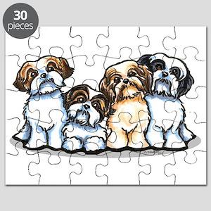 Four Shih Tzus Puzzle