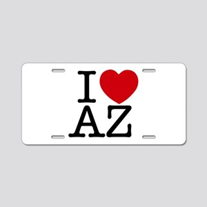 I Heart Arizona Aluminum License Plate
