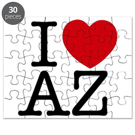 I Heart Arizona Puzzle