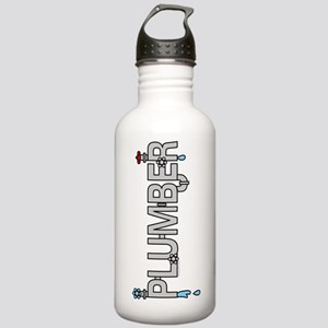 Plumber Pipes Stainless Water Bottle 1.0L