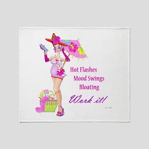 Divas!! Throw Blanket