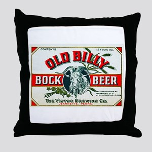 Pennsylvania Beer Label 7 Throw Pillow