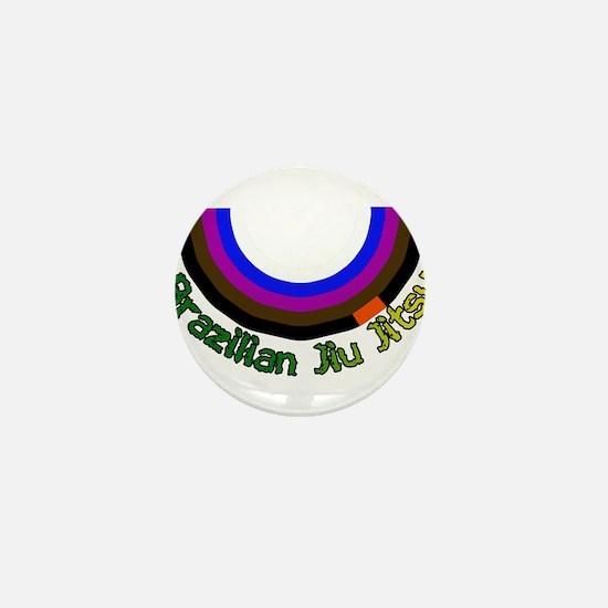 BJJ Loop - Colors of Progress Mini Button