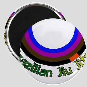 BJJ Loop - Colors of Progress Magnet
