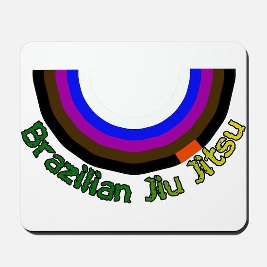 BJJ Loop - Colors of Progress Mousepad