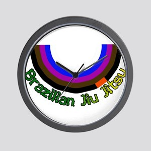 BJJ Loop - Colors of Progress Wall Clock