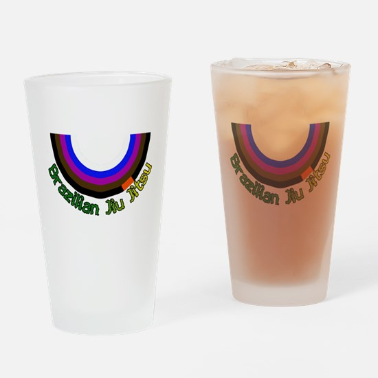 BJJ Loop - Colors of Progress Drinking Glass