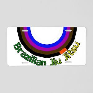 BJJ Loop - Colors of Progress Aluminum License Pla