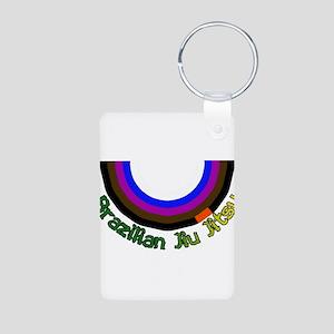 BJJ Loop - Colors of Progress Aluminum Photo Keych