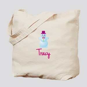 Tracy the snow woman Tote Bag