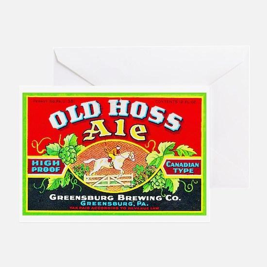 Pennsylvania Beer Label 9 Greeting Card
