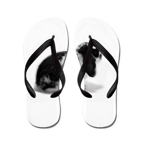 Holland Lop Rabbit - Broken B Flip Flops