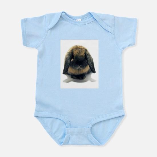 Holland Lop Rabbit Tort Infant Bodysuit