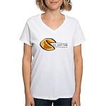 Climbing Fortune Cookie Women's V-Neck T-Shirt