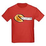 Climbing Fortune Cookie Kids Dark T-Shirt