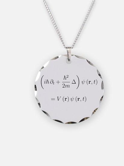 Cute Quantum mechanics Necklace