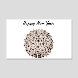 Happy New Year Ball Car Magnet 20 x 12