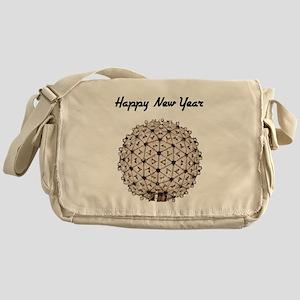 Happy New Year Ball Messenger Bag